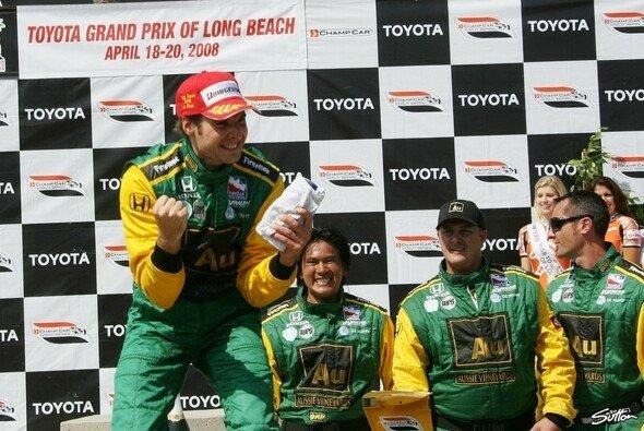 Will Power siegt beim Abschiedsrennen der Champ Cars. - Foto: Sutton