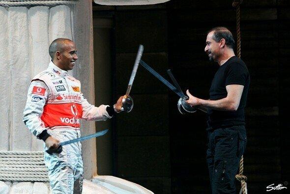 Ein wenig Schauspiel-Erfahrung hat Lewis Hamilton bereits