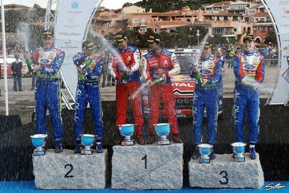 Ford verpasst den Sieg auf Sardinien: Nur Platz zwei und drei. - Foto: Sutton
