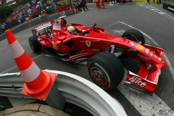 Felipe Massa gehört die Pole. - Foto: Sutton