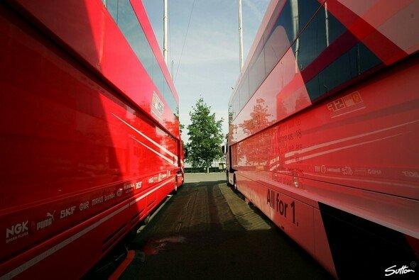 Ferrari ist bereit für neue Abenteuer.