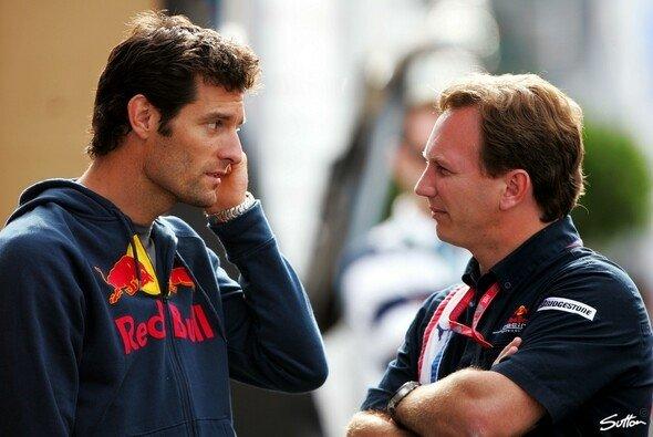 Christian Horner glaubt, dass die Winterarbeit auch ohne Mark Webber erledigt werden kann - Foto: Sutton