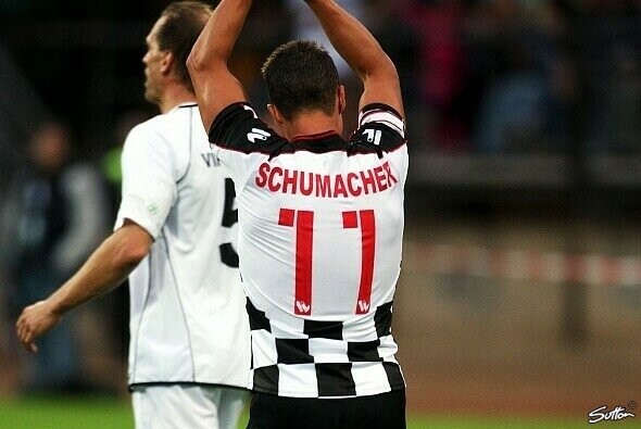 Michael Schumachers Leidenschaft ist auch der Fußball