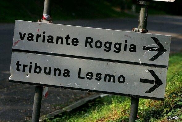 In Monza tragen die Streckenabschnitte bekannte Namen, die eine lange Historie haben - Foto: Bumstead/Sutton