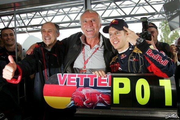 Sebastian Vettel gelang 2008 in Red Bulls Schwesterteam Toro Rosso der große Durchbruch in der Formel 1 - Foto: Sutton