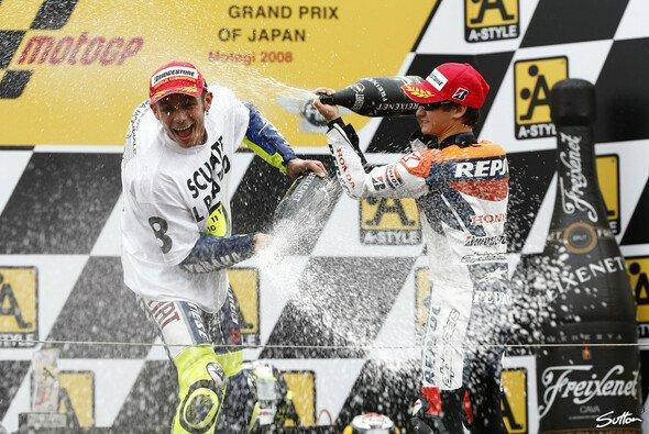 Valentino Rossi konnte wieder einen Titel feiern - Foto: Sutton