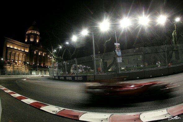 Ferrari stellte sich selbst in den Schatten. - Foto: Sutton