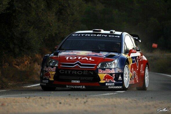 Sébastien Loeb gewann bisher 10 der 12 Etappen der diesjährigen Rallye Spanien. - Foto: Sutton