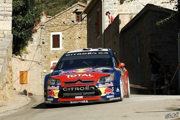 Sébastien Loeb feierte auf Korsika den fünften Sieg in Folge in dieser Saison. - Foto: Sutton
