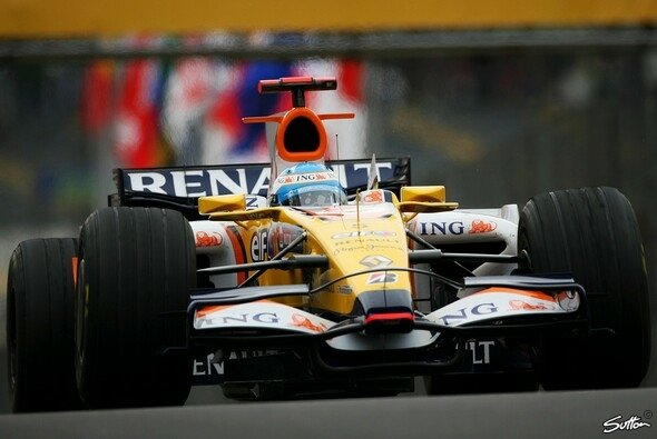 Alonso fuhr die schnellste Zeit des 3. Trainings. - Foto: Sutton