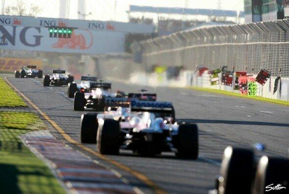 Der Formel-1-Tross reist rund um die Welt