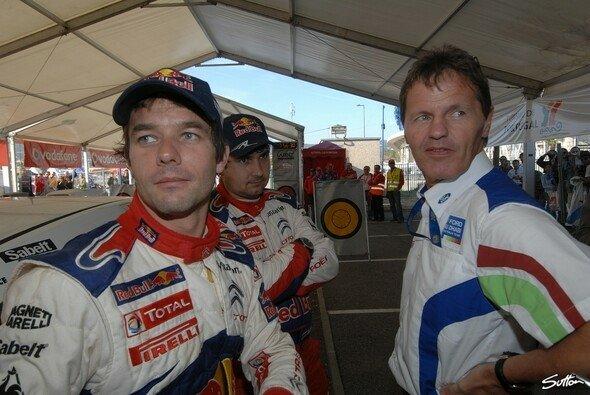 Sebastien Loeb und Malcolm Wilson standen kurz vor einer Vertragsunterzeichnung - Foto: Sutton