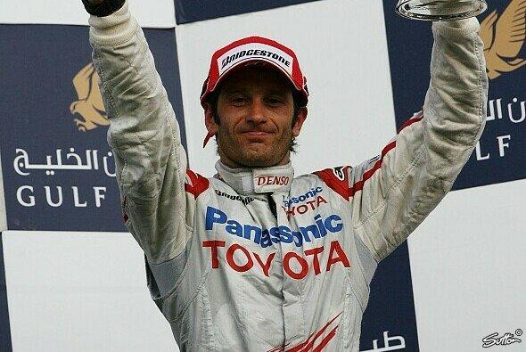 Jarno Trulli wollte in Bahrain eigentlich ganz oben stehen - Foto: Sutton