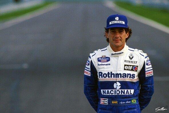 Senna auf Williams-Renault: Diese Paarung kommt nicht nur Damon Hill sonderbar vertraut vor - Foto: Sutton