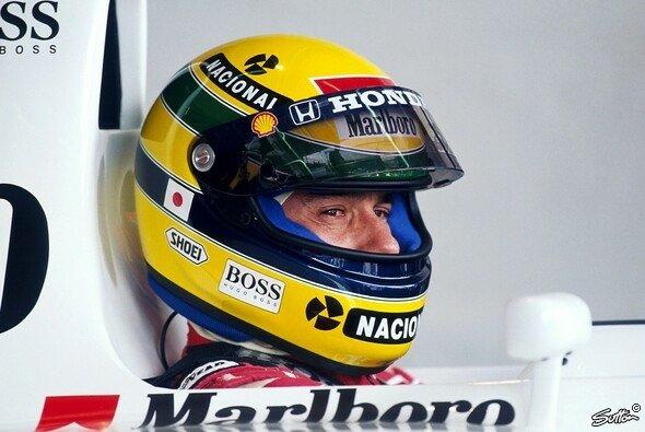 Ayrton Senna: Schon zu Lebzeiten eine Legende - Foto: Sutton