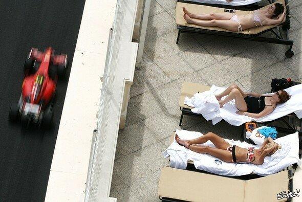 Die Formel 1 war eindeutig wieder zu Gast in Monaco.