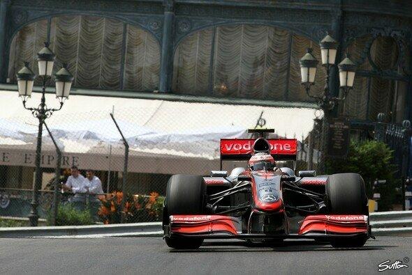 Kovalainen war heute schnellster McLaren-Pilot. - Foto: Sutton