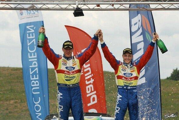 2009 siegte Mikko Hirvonen in Polen - Foto: Sutton