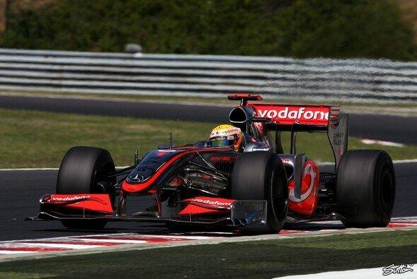 Lewis Hamilton war klar der Schnellste. - Foto: Sutton