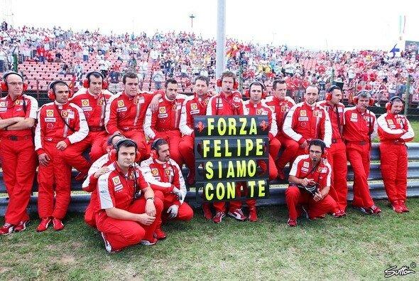 Felipe Massa dankte Maranello für die jahrelange Unterstützung auch in den schwärzesten Stunden - Foto: Sutton