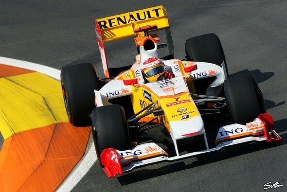 Alonso schnappte sich die Bestzeit beim Heimspiel. - Foto: Sutton