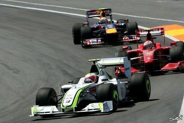 Rubens Barrichello gewann den Europa GP. - Foto: Sutton