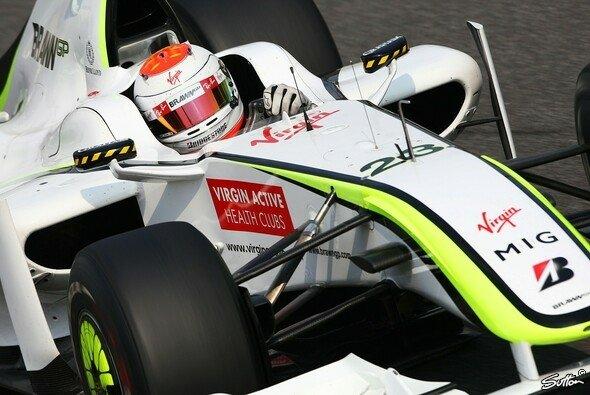 Rubens Barrichello fuhr die Bestzeit in Singapur. - Foto: Sutton