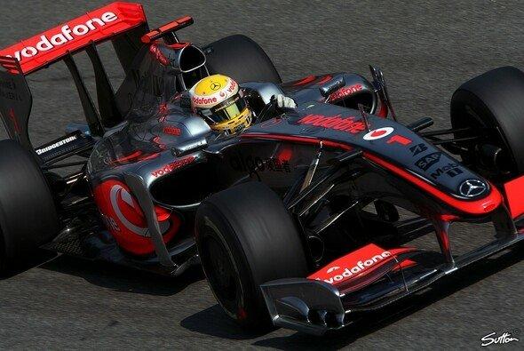 Lewis Hamilton war nicht zu stoppen. - Foto: Sutton