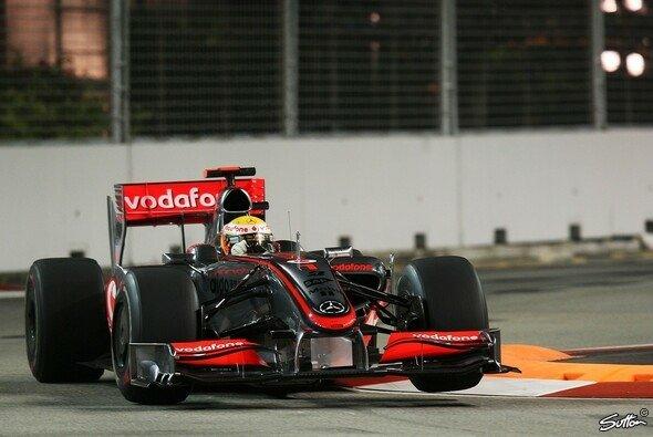 Lewis Hamilton fuhr die schnellste Zeit. - Foto: Sutton