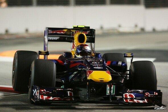 Sebastian Vettel gibt wieder Vollgas. - Foto: Sutton