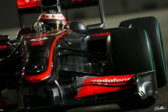 Heikki Kovalainen war der Schnellste im 1. Training. - Foto: Sutton