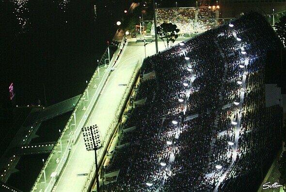 Singapur wird 2010 ein wenig anders aussehen - Foto: Sutton