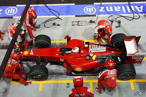 Ferrari war in Singapur nicht gut genug. - Foto: Sutton