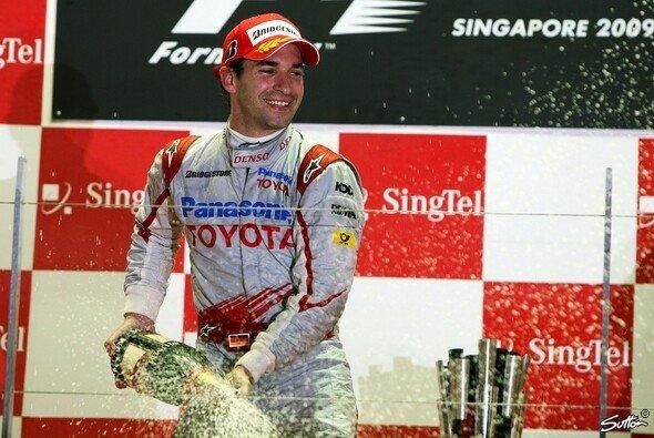 Timo Glock kannte auch die schönen Seiten der Formel 1
