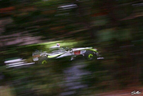 Jenson Button durfte nur am Vormittag ran. - Foto: Sutton