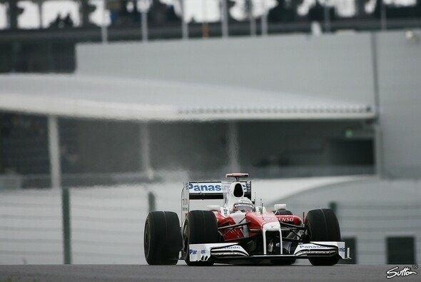 Jarno Trulli fuhr die schnellste Zeit des 3. Trainings. - Foto: Sutton