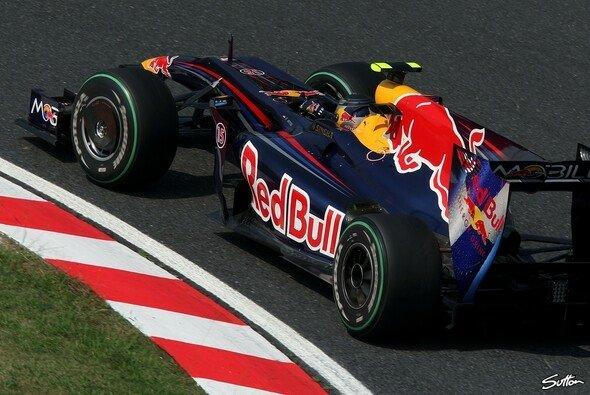 Sebastian Vettel gewann den Japan GP. - Foto: Sutton