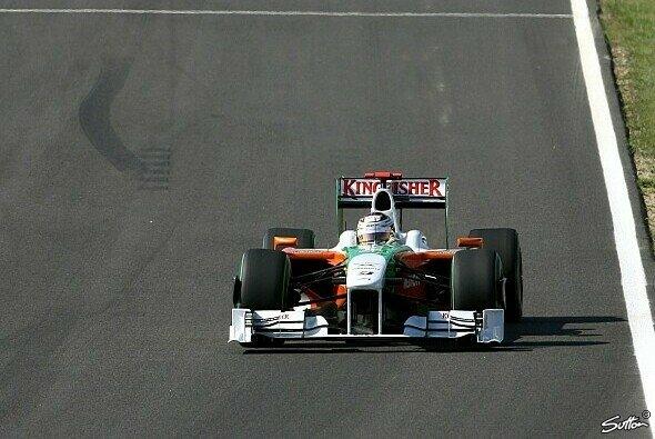 Adrian Sutil glaubt an seine Chance in Abu Dhabi - Foto: Sutton