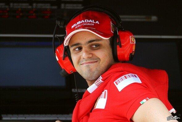 Felipe Massa saß schon wieder am Kommandostand. - Foto: Sutton