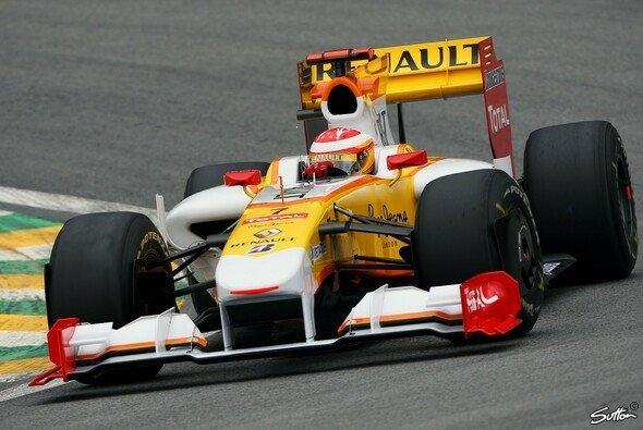 Fernando Alonso schnappte sich die Bestzeit. - Foto: Sutton