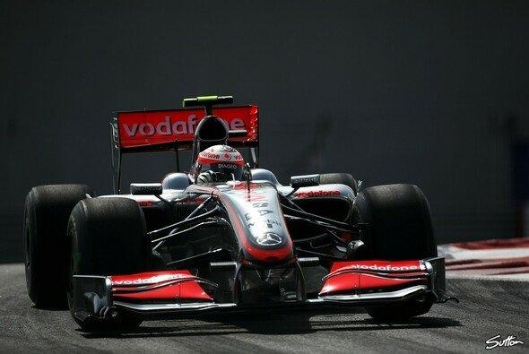 Heikki Kovalainen fuhr die schnellste Runde in Abu Dhabi. - Foto: Sutton