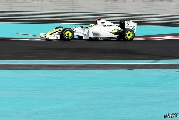 Jenson Button fuhr weltmeisterlich. - Foto: Sutton