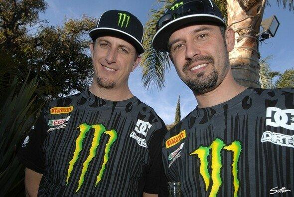 Ken Block und sein Beifahrer Alex Gelsomino freuen sich auf das erweiterte Programm 2011