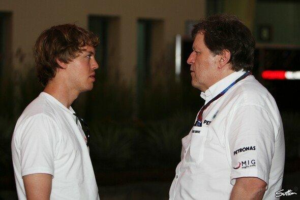 Norbert Haug und Sebastian Vettel kennen sich