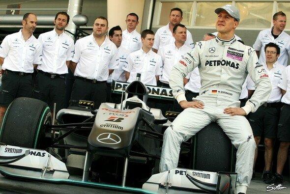 Neue Leute für Mercedes? - Foto: Sutton