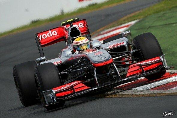 Lewis Hamilton schnappte sich die Bestzeit. - Foto: Sutton