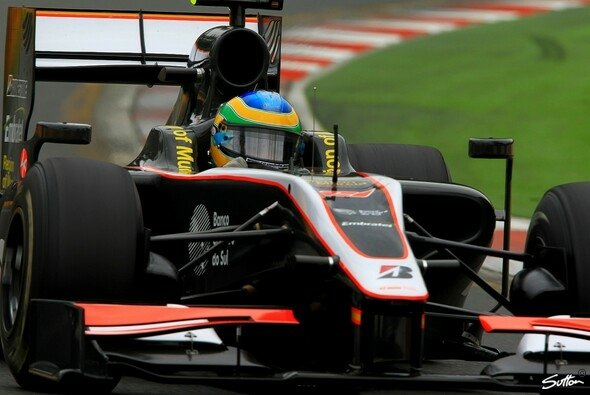 Bruno Senna muss geduldig sein. - Foto: Sutton
