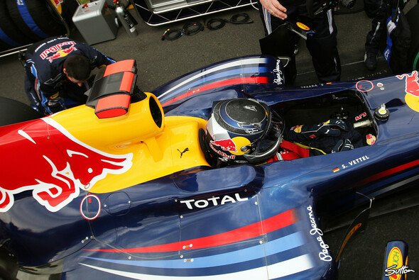 Sebastian Vettel hatte eigentlich alles unter Kontrolle
