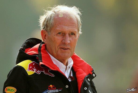 Helmut Marko will nur keinen Nuller von seinen Fahrern - Foto: Sutton