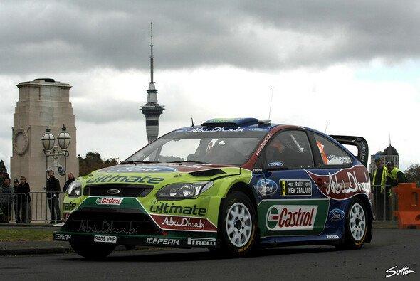 2012 kehrt die Rallye-WM nach Neuseeland zurück - Foto: Sutton
